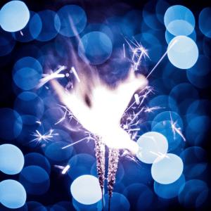 vuurtje brandend