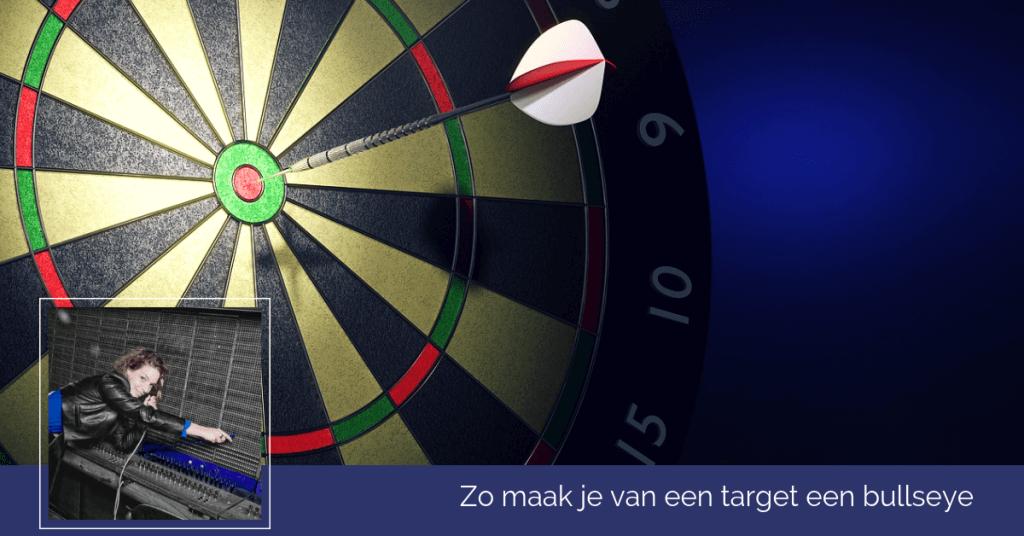 Targets gehaald bullseye